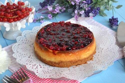 Dolci ricette Cheesecake ai frutti di bosco