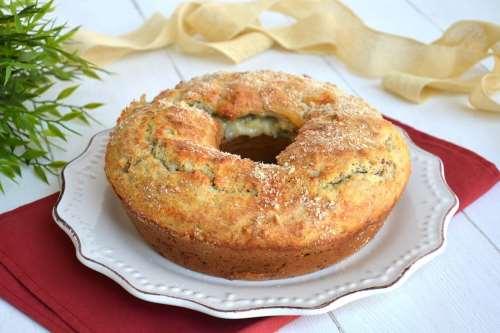 Ricette  Ciambella gorgonzola e noci