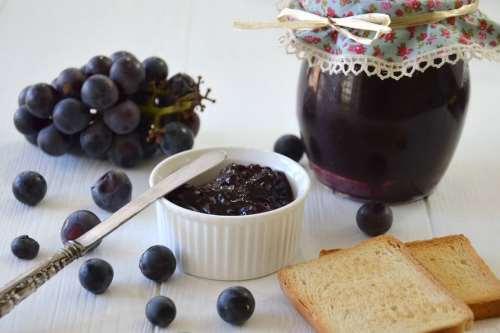 ricette Marmellata di uva fragola