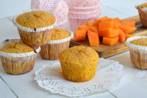 Ricette Muffin Muffin alla zucca
