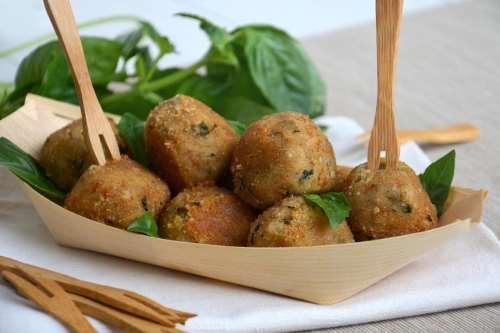 Ricette Finger food Polpette di fagioli