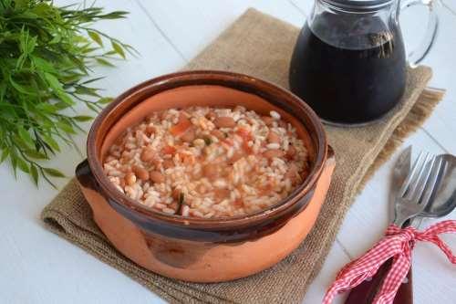Minestre e zuppe ricette Riso e fagioli