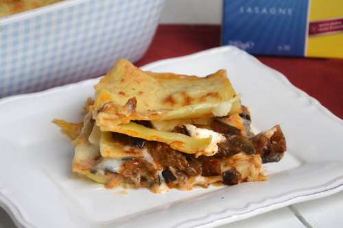 Ricette Pasta Lasagne alle melanzane