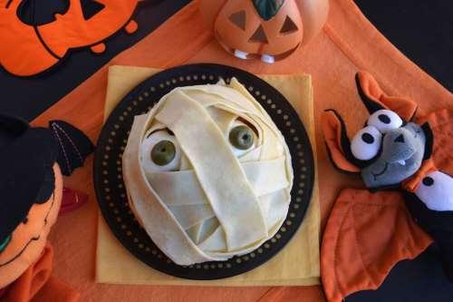 di Halloween ricette Polpettone mummia