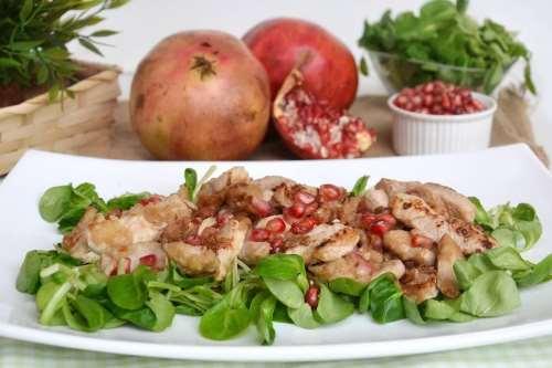 ricette Straccetti di pollo al melograno
