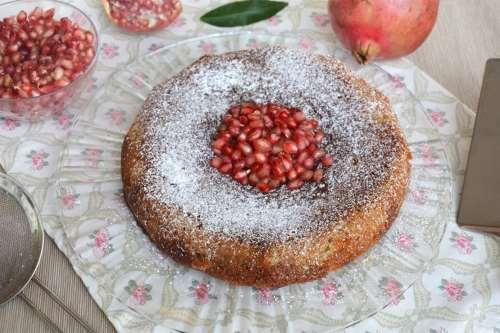 Ricette Torte Torta al melograno