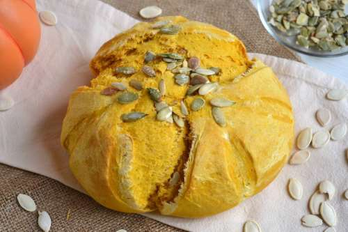 Ricette Pane e Brioches Pane alla zucca