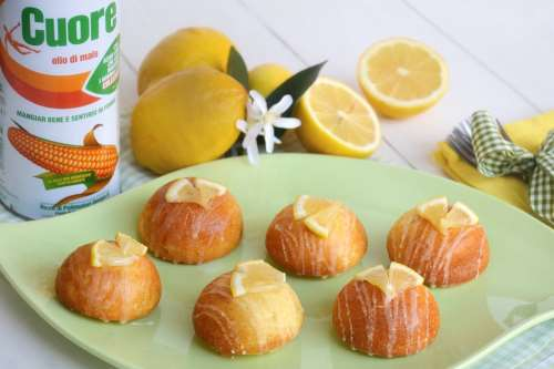 Ricette Dolcetti Tortine all'olio e limone