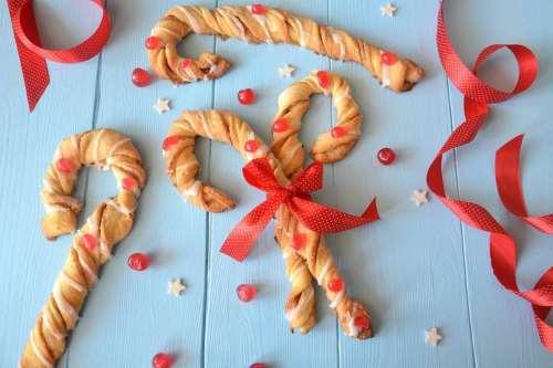 Ricette Pane e Brioches Brioche candy cane alla cannella