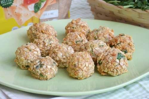 ricette Polpette di pollo e rucola