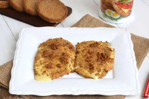 Ricette Secondi vegetariani Scamorza al forno