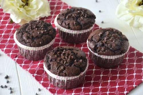 Dolci ricette Muffin al cioccolato bimby