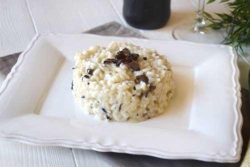 Ricette Primi piatti senza glutine Risotto al tartufo