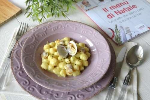 Ricette Primi piatti Gnocchetti di baccalà ai tartufi di mare