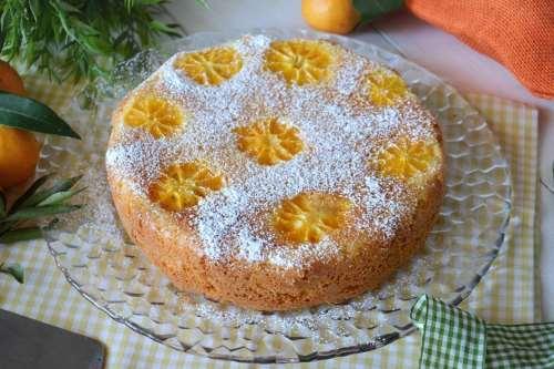 ricette Torta al mandarino