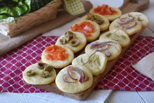 Pizze e Focacce ricette Focaccine di patate