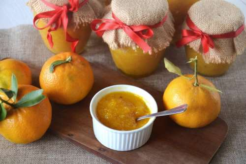 Conserve ricette Marmellata di mandarini