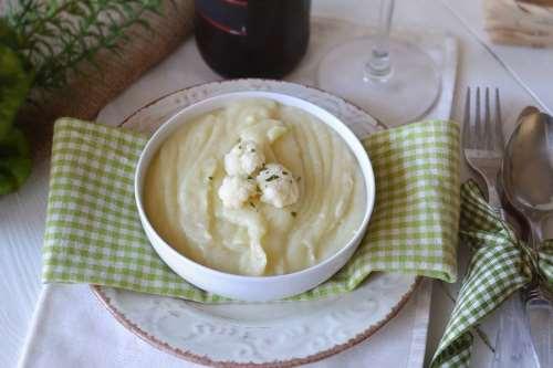 Primi piatti ricette Vellutata di cavolfiore