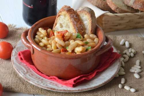 Vegane ricette Zuppa di fagioli