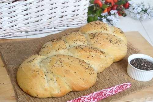 Pane e Brioches ricette Treccia di pane all'olio