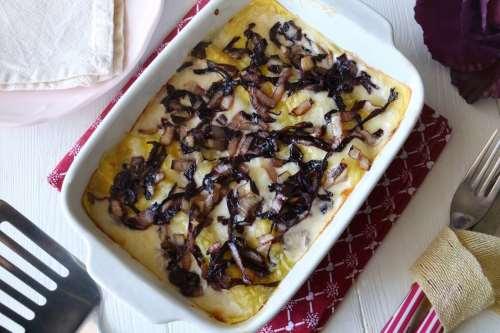 ricette Lasagne al radicchio