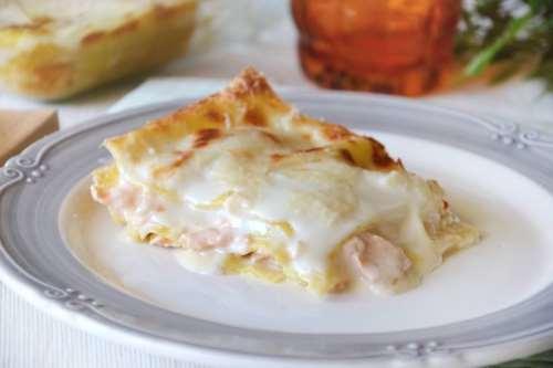 Ricette  Lasagne al salmone