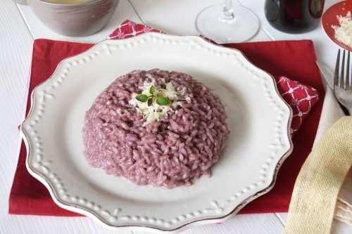 Primi piatti ricette Risotto al Barolo