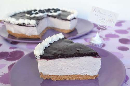 Cheesecake ai mirtilli