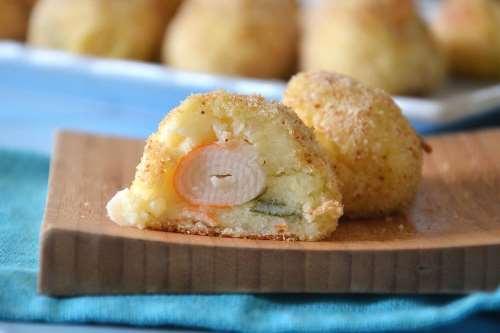 Ricette  Crocchette di patate e surimi