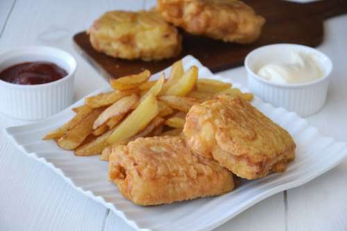 inglesi ricette Fish and chips