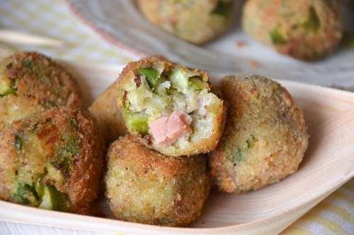 ricette Polpette di asparagi