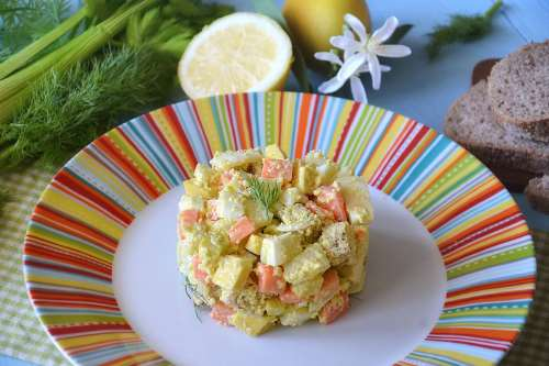 Insalate ricette Tartare di verdure