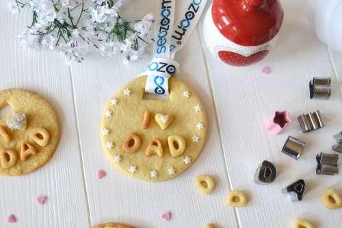 Ricette per bambini Biscotti medaglia