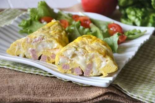 Ricette Secondi piatti Omelette in a bag