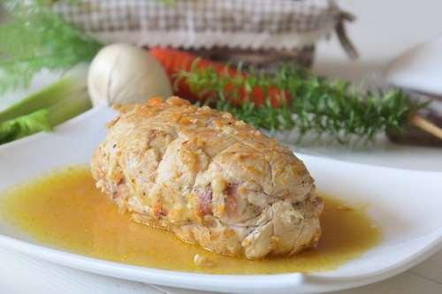 Secondi piatti ricette Arrotolato di pollo