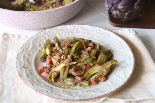 Ricette Contorni Carciofi in padella
