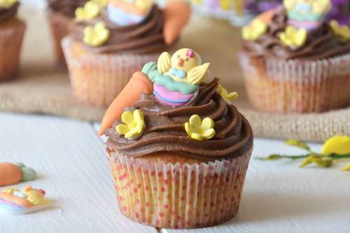 Ricette  Cupcake di Pasqua