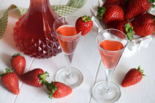 Ricette  Liquore alle fragole