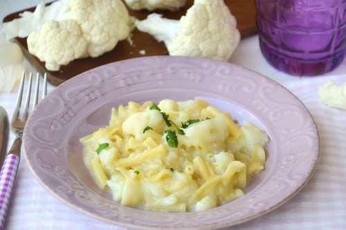 Vegane ricette Pasta e cavolo