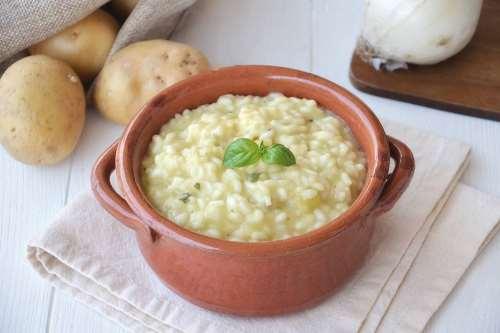 Minestre e zuppe ricette Riso e patate