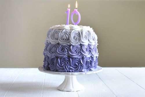 Torte decorate con panna