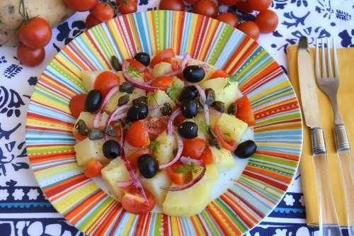 Vegetariane ricette Insalata pantesca