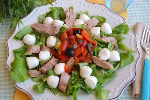 Insalate ricette Insalata di tonno
