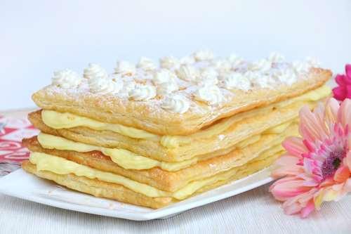 Torte facili ricette Millefoglie alla crema