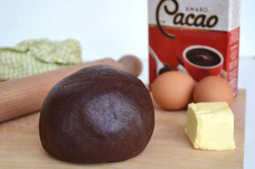 Base ricette Pasta frolla al cacao