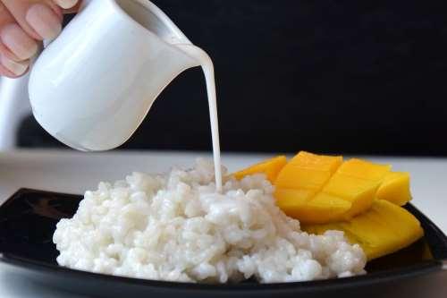 Ricette Dolci Vegani Mango sticky rice