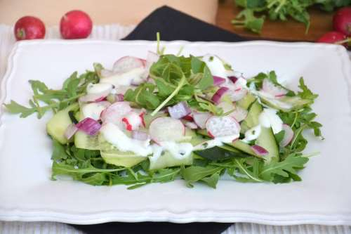 Ricette Contorni di verdure Insalata di cetrioli