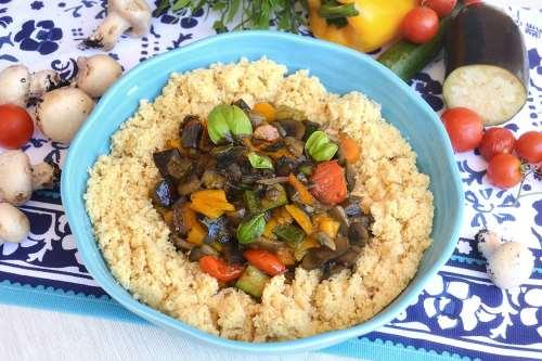 Ricette Primi piatti Cous Cous di verdure