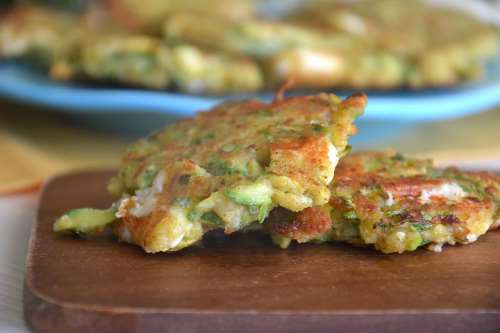 Ricette Vegetariane Frittelle di zucchine