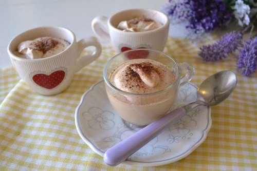 Crema di caffè in bottiglia